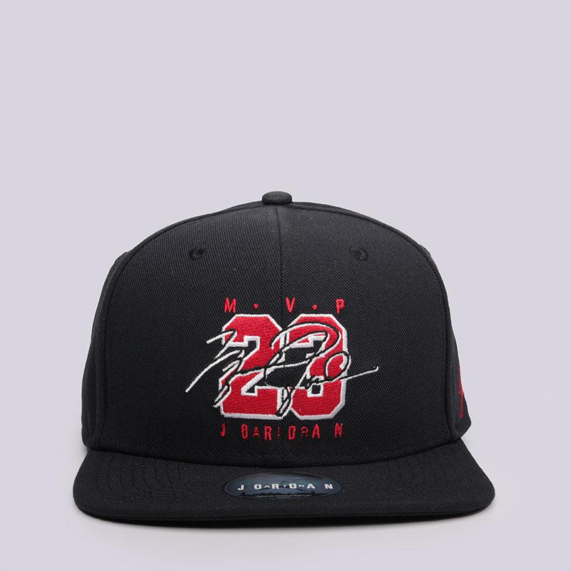 Кепка Jordan AJ 6 CapКепки<br>Полиэстер, хлопок<br><br>Цвет: Чёрный<br>Размеры US: OS