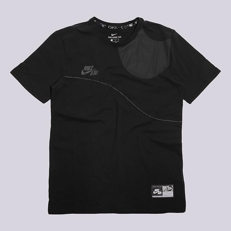 Футболка Nike Sportswear M NK Air Tee 3Футболки<br>100% хлопок<br><br>Цвет: Черный<br>Размеры US: S;M;L;XL<br>Пол: Мужской