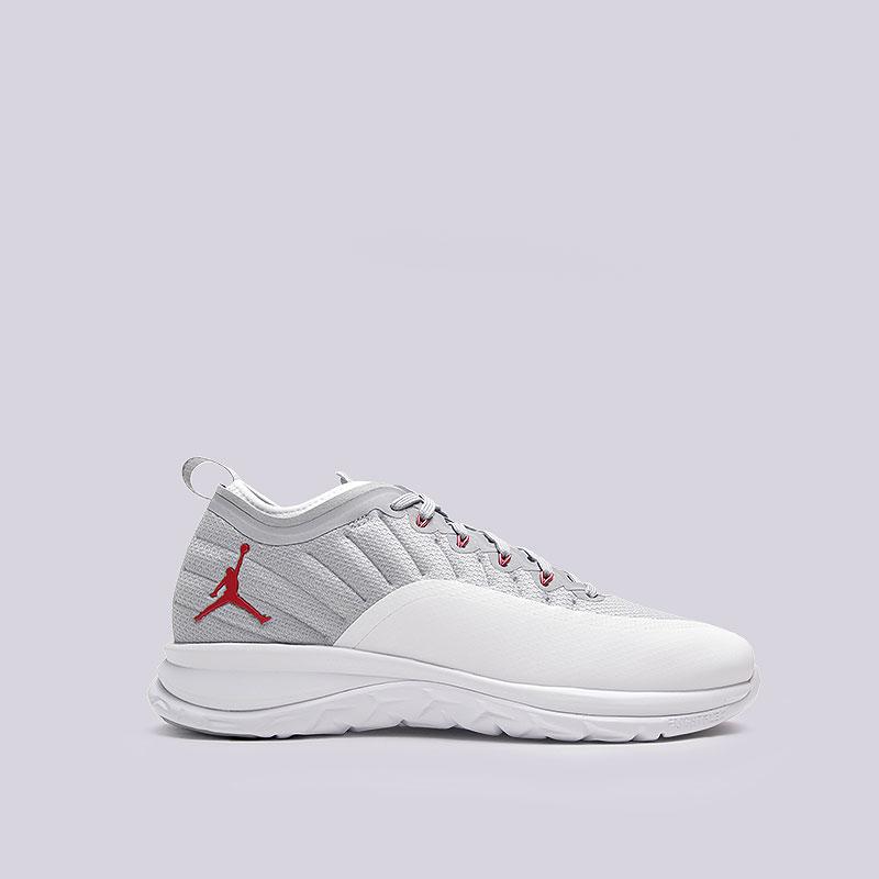 Кроссовки Jordan Trainer PrimeКроссовки lifestyle<br>Текстиль, пластик, резина<br><br>Цвет: Белый, серый<br>Размеры US: 8<br>Пол: Мужской