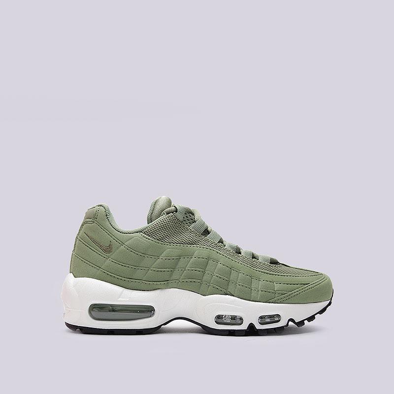 Кроссовки Nike Sportswear WMNS Air Max 95Кроссовки lifestyle<br>Текстиль, синтетика, резина, пластик<br><br>Цвет: Зелёный<br>Размеры US: 8<br>Пол: Женский