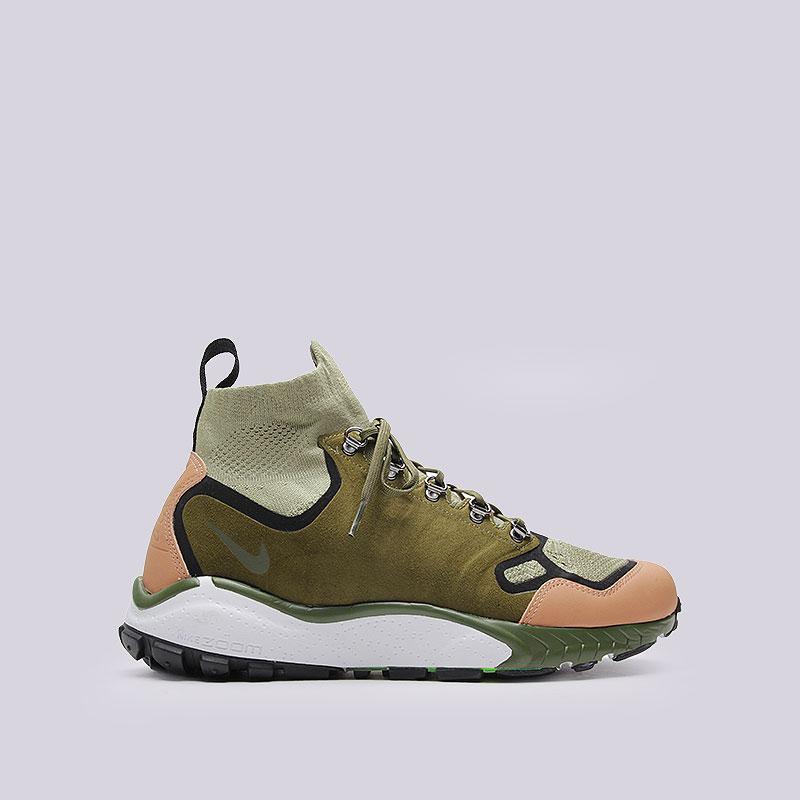 Кроссовки Nike Sportswear Air Zoom Talaria Mid FK PRMКроссовки lifestyle<br>Текстиль, пластик, резина<br><br>Цвет: Зелёный<br>Размеры US: 9;9.5;10;10.5<br>Пол: Мужской
