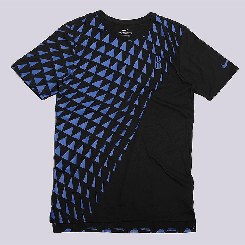 Футболка Nike KI M NK Dri Tee DF ART 1Футболки<br>75% полиэстер, 13% хлопок, 12% вискоза<br><br>Цвет: Черный<br>Размеры US: S;M;L;XL<br>Пол: Мужской