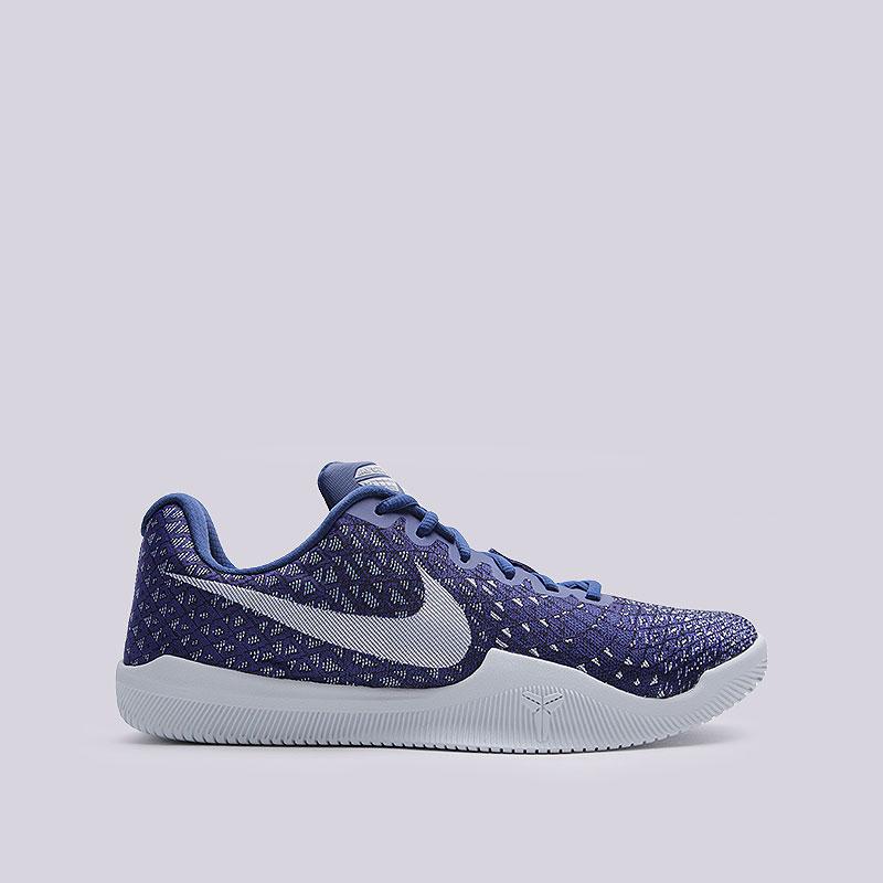 Кроссовки  Nike Mamba InstinctКроссовки баскетбольные<br>Текстиль, пластик, резина<br><br>Цвет: Синий<br>Размеры US: 8;8.5;9;9.5;10;10.5;11;11.5;12;12.5;13;14;15<br>Пол: Мужской
