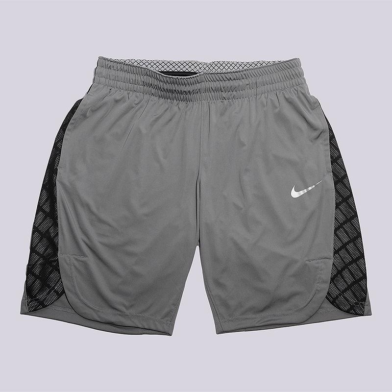 Шорты Nike WMNS EliteШорты<br>100% полиэстер<br><br>Цвет: Серый<br>Размеры US: M;L<br>Пол: Женский