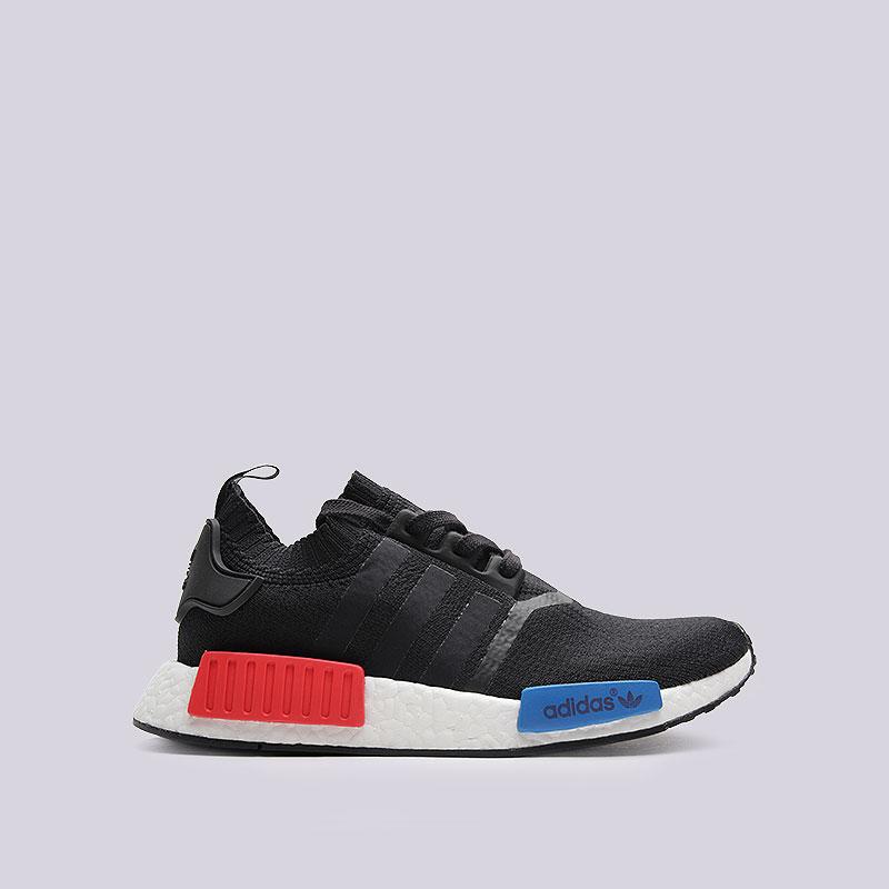 Кроссовки  adidas Originals NMD_R1 PKКроссовки lifestyle<br>Текстиль, резина<br><br>Цвет: Чёрный<br>Размеры UK: 13.5<br>Пол: Мужской