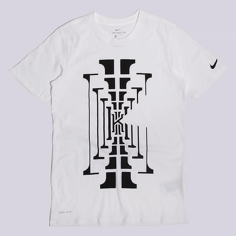Футболка Nike KI M NK Dry Tee DF BM1Футболки<br>60% хлопок, 40% полиэстер<br><br>Цвет: Белый<br>Размеры US: M<br>Пол: Мужской