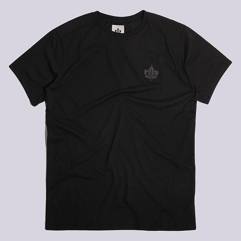 Футболка K1X Core Big Leaf T-ShirtФутболки<br>хлопок, полиэстер<br><br>Цвет: Черный<br>Размеры US: S<br>Пол: Мужской