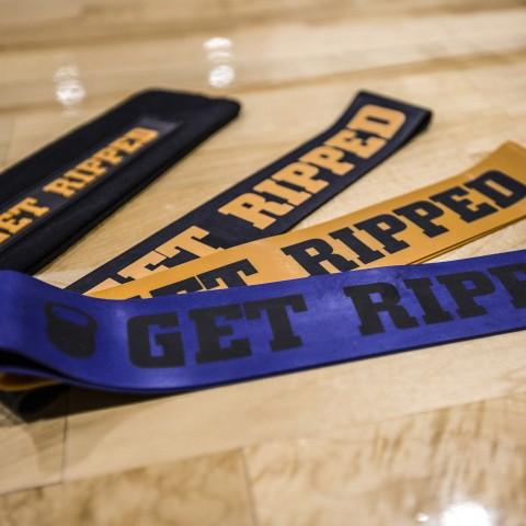 синие, оранжевые, чёрные  тренажеры get ripped gr 3 types of resistent bands GR-031-16 - цена, описание, фото 2