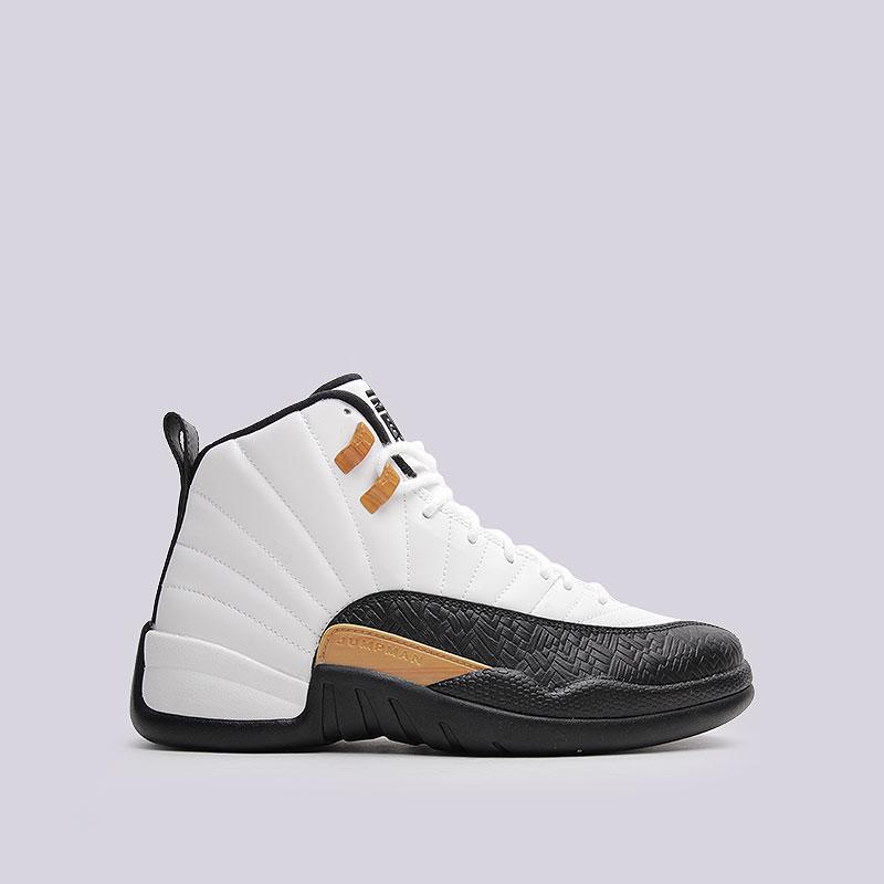 Кроссовки Air Jordan XII Retro CNYКроссовки lifestyle<br>Синтетика, кожа, текстиль, пластик, резина<br><br>Цвет: Белый<br>Размеры US: 12<br>Пол: Мужской
