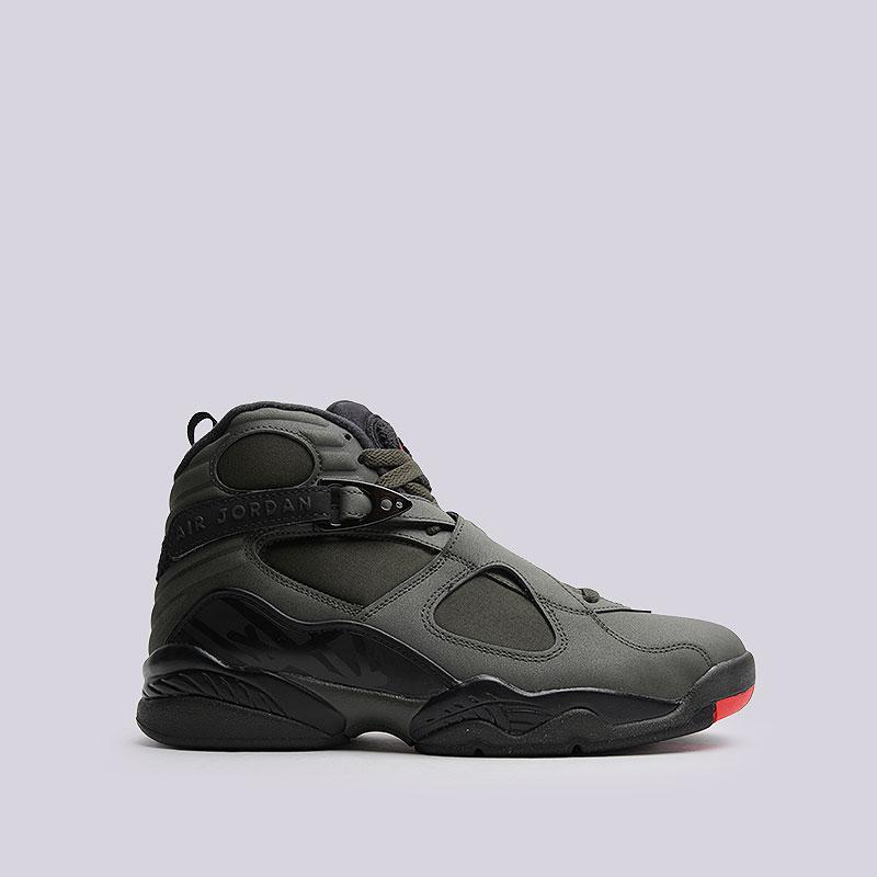 Кроссовки Air Jordan VIII RetroКроссовки lifestyle<br>Кожа, синтетика, текстиль, резина, пластик<br><br>Цвет: Зелёный<br>Размеры US: 7<br>Пол: Мужской