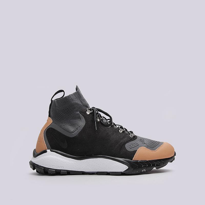 Кроссовки  Nike Sportswear Air Zoom Talaria Mid FK PRMКроссовки lifestyle<br>Текстиль, пластик, резина<br><br>Цвет: Чёрный<br>Размеры US: 8;8.5;9;9.5;10;10.5<br>Пол: Мужской