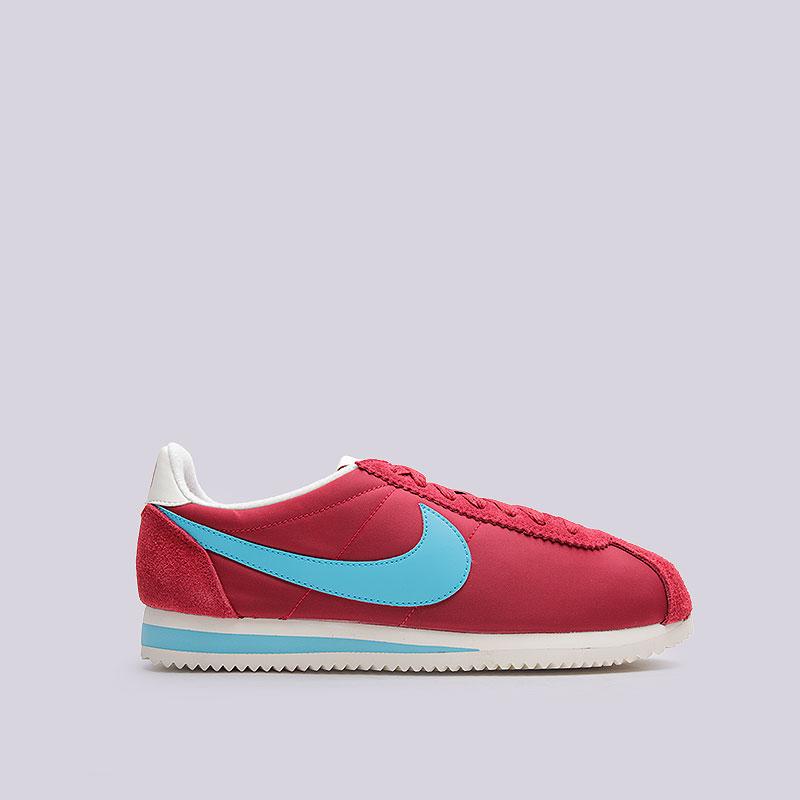 Кроссовки  Nike Classic Cortez Nylon PremКроссовки lifestyle<br>Текстиль, кожа, резина<br><br>Цвет: Красный<br>Размеры US: 8;8.5;9;9.5;10;10.5;11;11.5;12<br>Пол: Мужской
