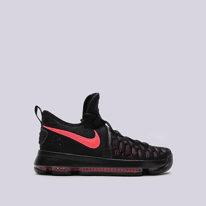 Кроссовки Nike Zoom KD 9 PRMКроссовки баскетбольные<br>текстиль, резина<br><br>Цвет: Черный<br>Размеры US: 8;9;9.5;10;10.5;11;11.5<br>Пол: Мужской