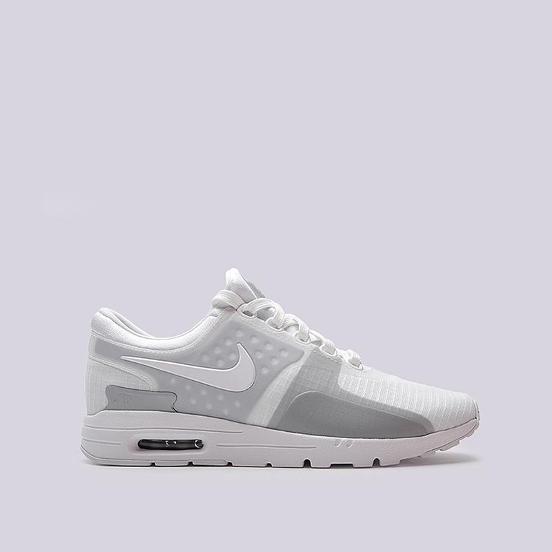 Кроссовки Nike Sportswear WMNS Air Max Zero SIКроссовки lifestyle<br>текстиль, резина<br><br>Цвет: Серый<br>Размеры US: 6;6.5;7;7.5;8;8.5<br>Пол: Женский