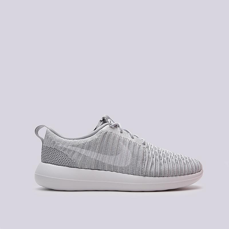 Кроссовки Nike Sportswear Roshe Two FlyknitКроссовки lifestyle<br>текстиль, резина<br><br>Цвет: Серый<br>Размеры US: 8;8.5;9;10;11<br>Пол: Мужской