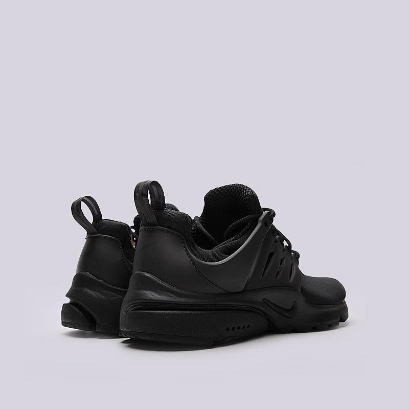 e92c2723 мужские чёрные кроссовки nike air presto essential 848187-011 - цена,  описание, фото