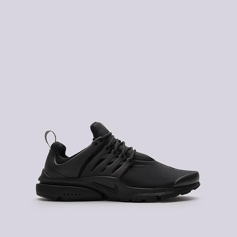 Кроссовки Nike Sportswear Air Presto EssentialКроссовки lifestyle<br>Текстиль, резина, пластик<br><br>Цвет: Чёрный<br>Размеры US: 12<br>Пол: Мужской