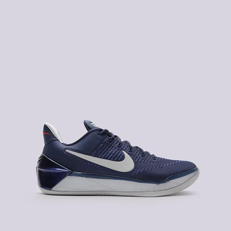 Кроссовки  Nike Kobe A.D.Кроссовки баскетбольные<br>Текстиль, синтетика, резина<br><br>Цвет: Синий<br>Размеры US: 9.5<br>Пол: Мужской