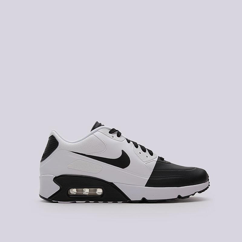 8532349f мужские белые, чёрные кроссовки nike air max 90 ultra 2.0 se 876005-002 -
