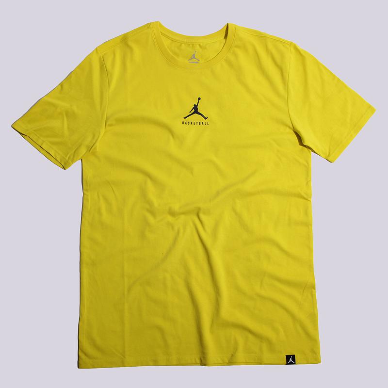 Футболка Jordan JBSK DF 23/7 Bball JMPMФутболки<br>100% хлопок<br><br>Цвет: Желтый<br>Размеры US: S;M;L;XL<br>Пол: Мужской