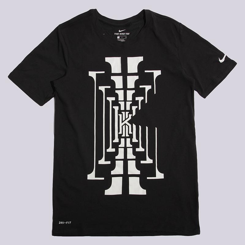 Футболка Nike KI M NK Dry Tee DF BMФутболки<br>100% хлопок<br><br>Цвет: Черный<br>Размеры US: L<br>Пол: Мужской