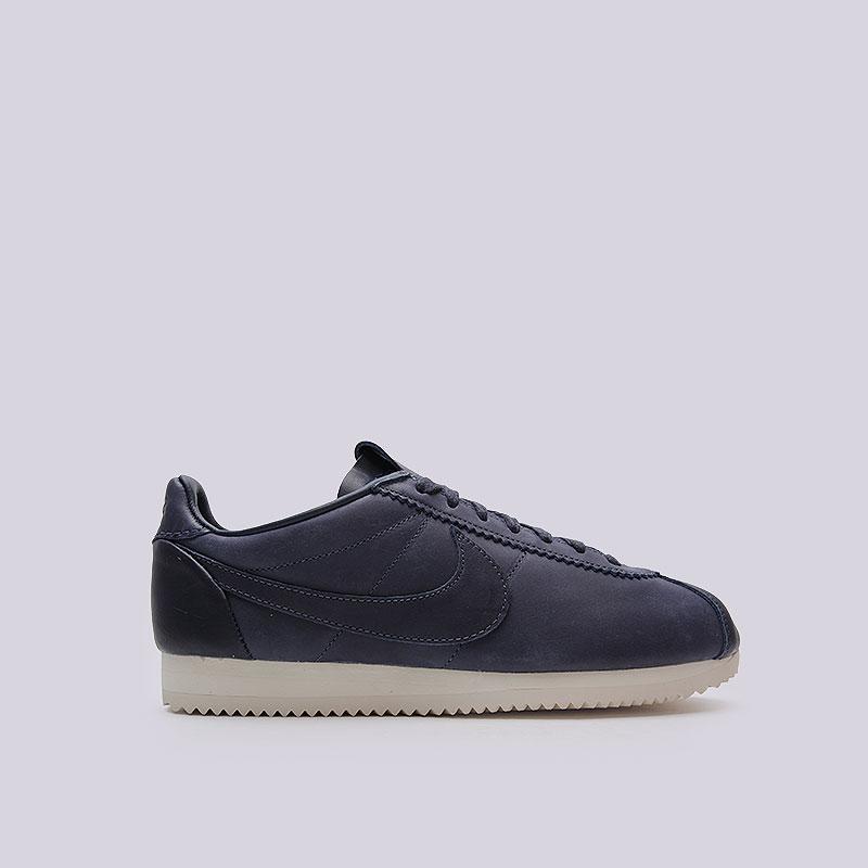 Кроссовки Nike Sportswear Classic Cortez Prem QS TZКроссовки lifestyle<br>Кожа, текстиль, резина<br><br>Цвет: Синий<br>Размеры US: 11.5<br>Пол: Мужской
