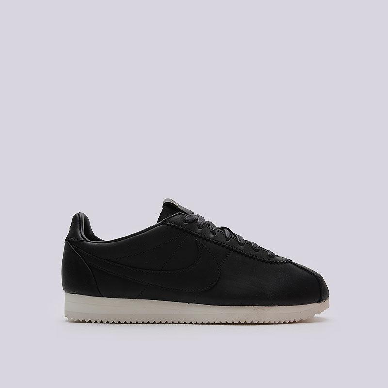 Кроссовки Nike Sportswear Classic Cortez Prem QS TZКроссовки lifestyle<br>Кожа, текстиль, резина<br><br>Цвет: Чёрный<br>Размеры US: 11.5;12.5<br>Пол: Мужской