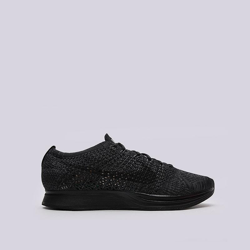 Кроссовки Nike Sportswear Flyknit RacerКроссовки lifestyle<br>Текстиль, резина, пластик<br><br>Цвет: Чёрный<br>Размеры US: 5.5;8<br>Пол: Мужской