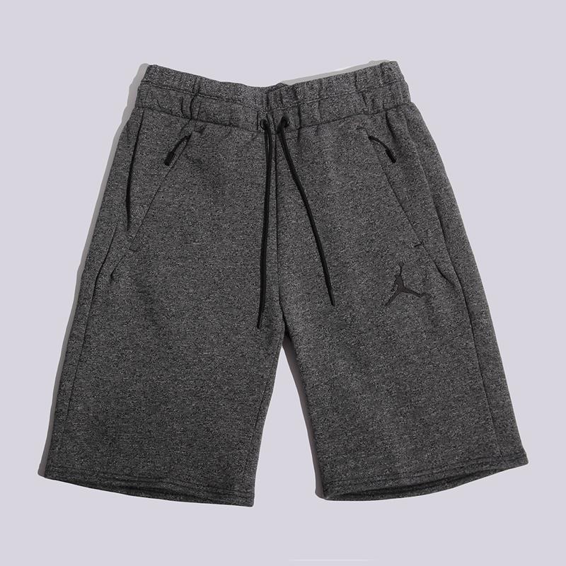 Шорты Jordan Icon Fleece ShortШорты<br>60% хлопок, 40% полиэстер<br><br>Цвет: Темно-серый<br>Размеры US: S;M;L<br>Пол: Мужской