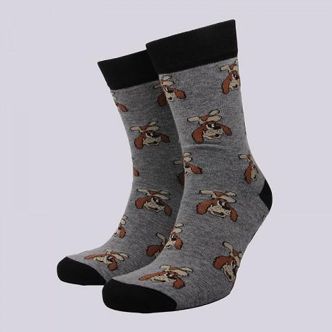 мужские серые  носки запорожец heritage шарик Шарик-серый - цена, описание, фото 1