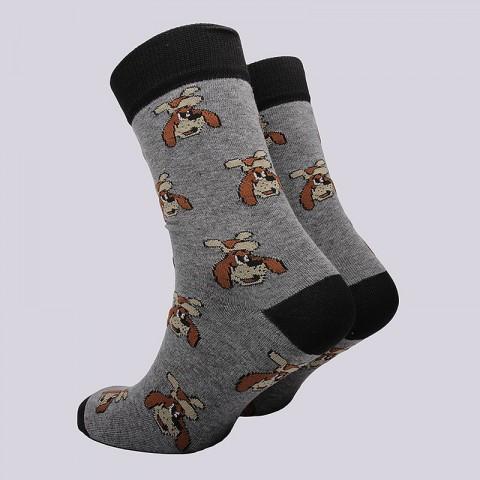 мужские серые  носки запорожец heritage шарик Шарик-серый - цена, описание, фото 2