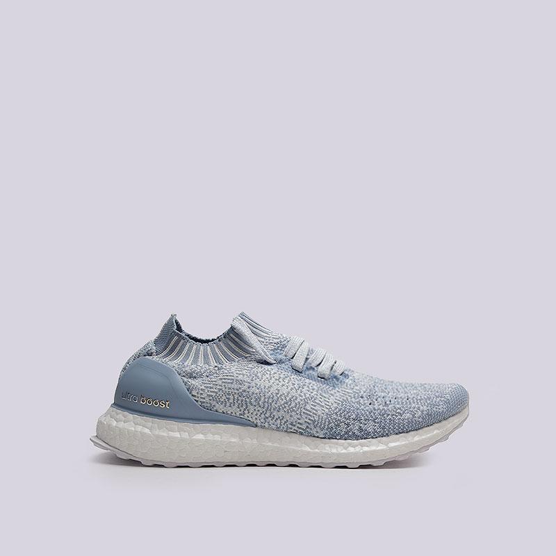 Кроссовки  adidas UltraBoost Uncaged WКроссовки lifestyle<br>Текстиль, пластик, резина<br><br>Цвет: Голубой<br>Размеры UK: 5.5;6;7.5;8<br>Пол: Женский