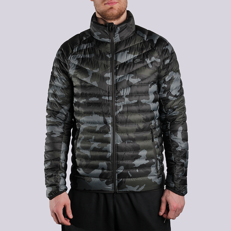 Куртка Nike Sportswear Outwear Guild 550 JKTКуртки, пуховики<br>полиэстер<br><br>Цвет: Камуфляж<br>Размеры US: L;2XL<br>Пол: Мужской