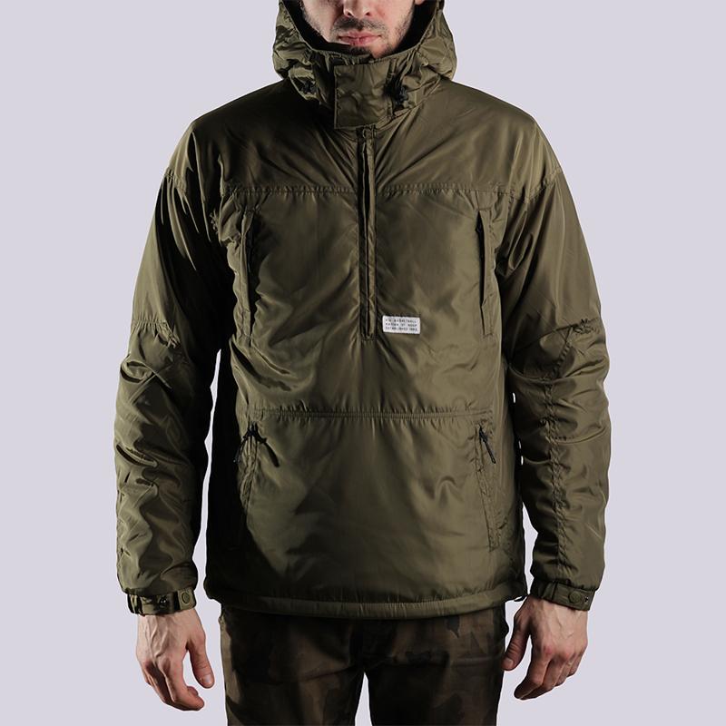 Куртка K1X Urban Hooded Halfzip MK3Куртки, пуховики<br>полиэстер<br><br>Цвет: Оливковый<br>Размеры US: S;M;XL;2XL<br>Пол: Мужской
