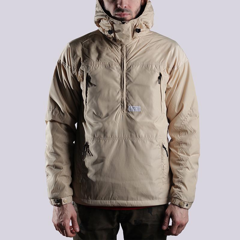 Куртка K1X Urban Hooded Halfzip MK3Куртки, пуховики<br>полиэстер<br><br>Цвет: Бежевый<br>Размеры US: S;M;L;XL;2XL<br>Пол: Мужской