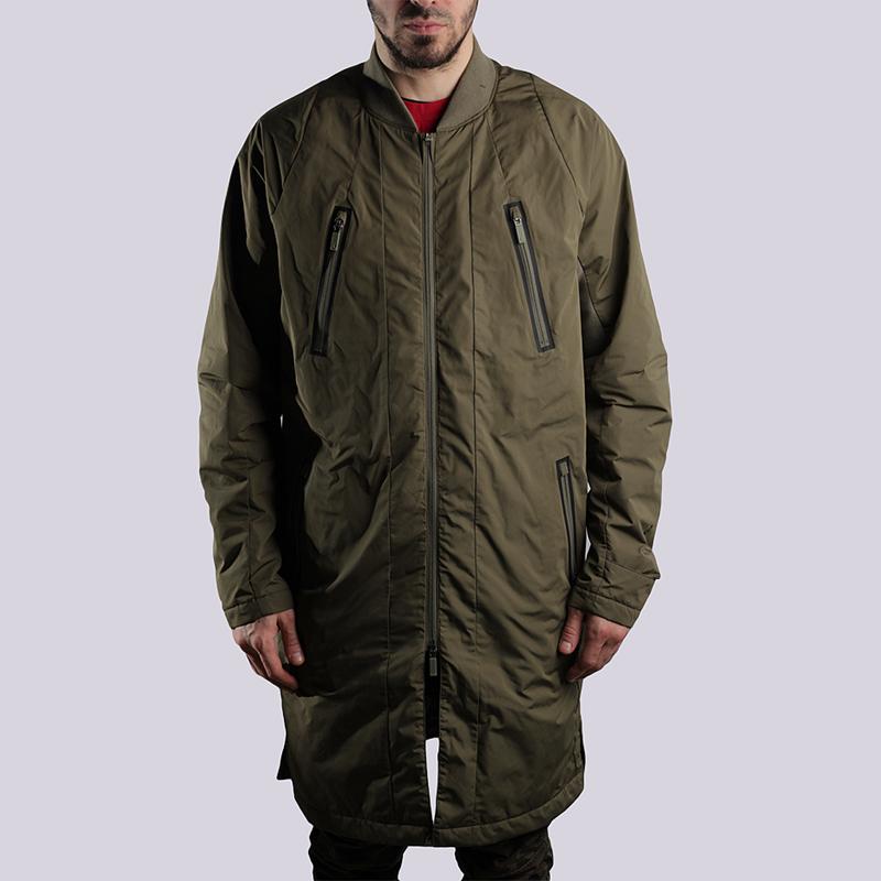 Куртка Jordan AJ JaketКуртки, пуховики<br>100% полиэстер<br><br>Цвет: Оливковый<br>Размеры US: S<br>Пол: Мужской