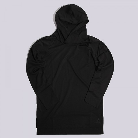 23 LUX L/S Hooded Raglan Top Jordan
