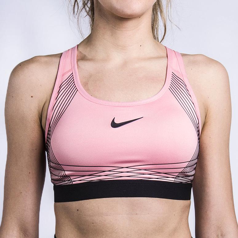 Топ Nike Pro Hyper ClassicБезрукавки<br>88% полиэстер, 12% эластан<br><br>Цвет: Розовый<br>Размеры US: S<br>Пол: Женский