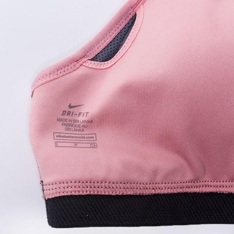 женский розовый  топ nike pro hyper classic 832068-808 - цена, описание, фото 3