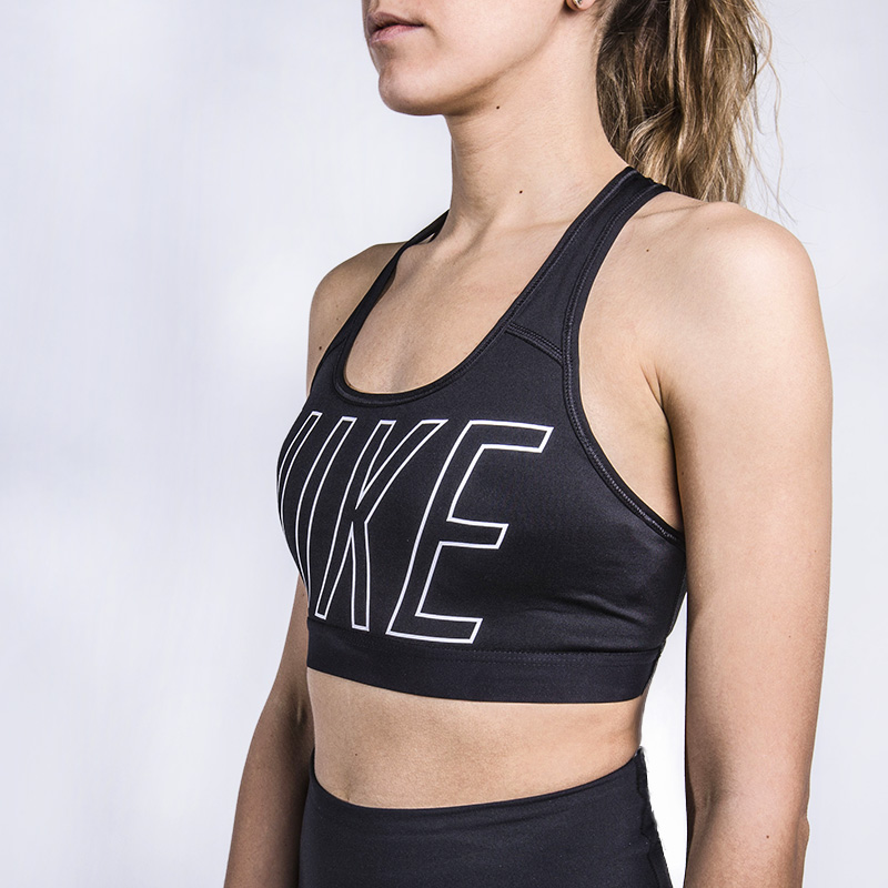 Топ Nike NK Dry JKT MVPБезрукавки<br>88% полиэстер, 12% эластан<br><br>Цвет: Черный<br>Размеры US: XS;S;M;L<br>Пол: Женский