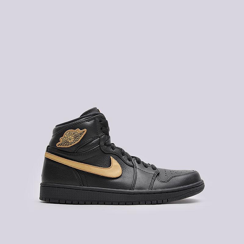 Кроссовки  Jordan 1 Retro High BHMКроссовки lifestyle<br>Кожа, текстиль, резина<br><br>Цвет: Чёрный<br>Размеры US: 8;8.5;9;9.5;10;10.5;11<br>Пол: Мужской