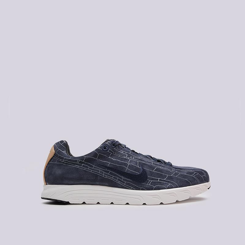 Кроссовки Nike Mayfly Leather PRMКроссовки lifestyle<br>текстиль, пластик, резина<br><br>Цвет: Синий<br>Размеры US: 8;11;12<br>Пол: Мужской
