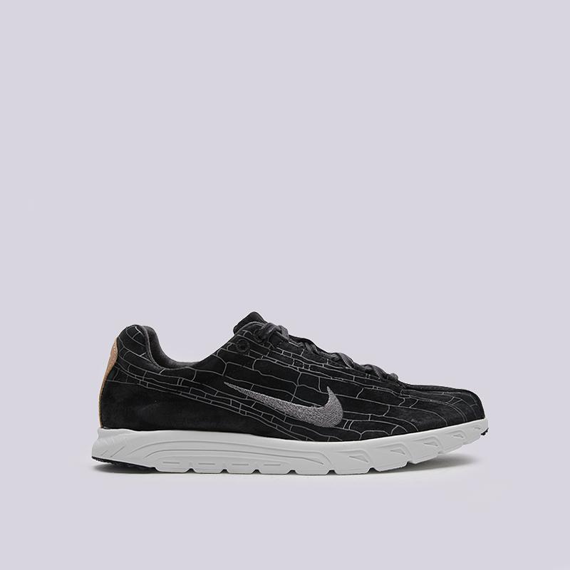 Кроссовки Nike Sportswear Mayfly Leather PRMКроссовки lifestyle<br>текстиль, пластик, резина<br><br>Цвет: Черный<br>Размеры US: 8;8.5;9;10;11<br>Пол: Мужской
