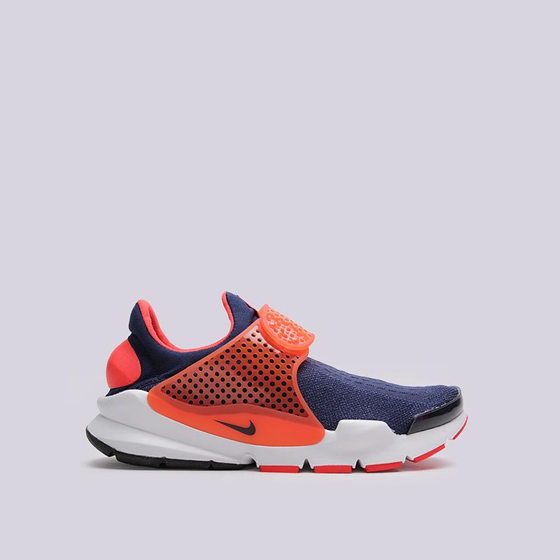 Кроссовки Nike Sock Dart KJCRDКроссовки lifestyle<br>текстиль, резина<br><br>Цвет: Синий<br>Размеры US: 8;11;12<br>Пол: Мужской
