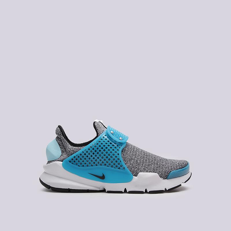 Кроссовки Nike Sportswear WMNS Sock Dart SEКроссовки lifestyle<br>текстиль, резина<br><br>Цвет: Серый<br>Размеры US: 6<br>Пол: Женский