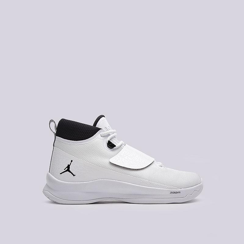 Кроссовки  Jordan Super.Fly 5 POКроссовки баскетбольные<br>Текстиль, синтетика, резина, пластик<br><br>Цвет: Белый<br>Размеры US: 8;8.5;9;9.5;10;11;11.5;12;12.5;13<br>Пол: Мужской