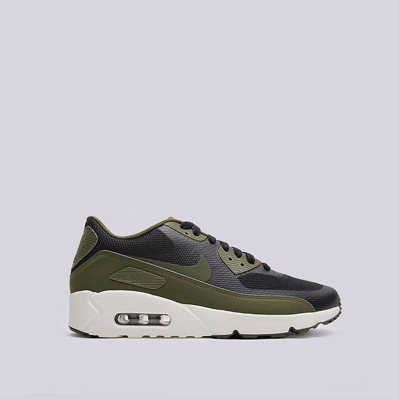 Кроссовки  Nike Sportswear Air Max 90 Ultra 2.0 EssentialКроссовки lifestyle<br>Текстиль, пластик, резина<br><br>Цвет: Зелёный<br>Размеры US: 8;9;11;11.5<br>Пол: Мужской