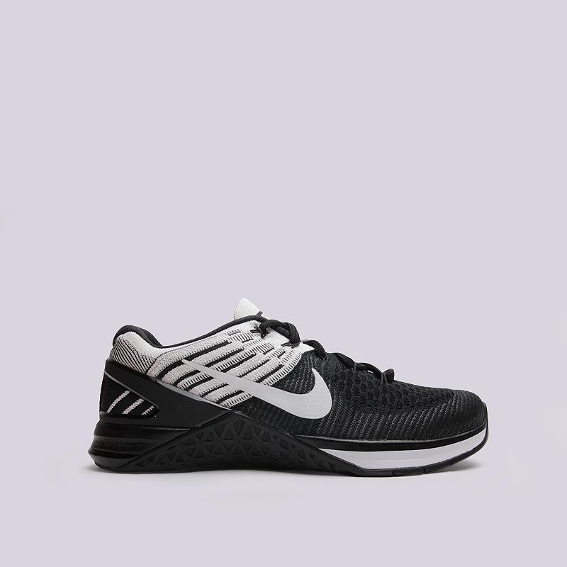 Кроссовки Nike WMNS Metcon DSX FlyknitКроссовки lifestyle<br>текстиль, пластик, резина<br><br>Цвет: Черный<br>Размеры US: 6;6.5;7;7.5;8;9<br>Пол: Женский