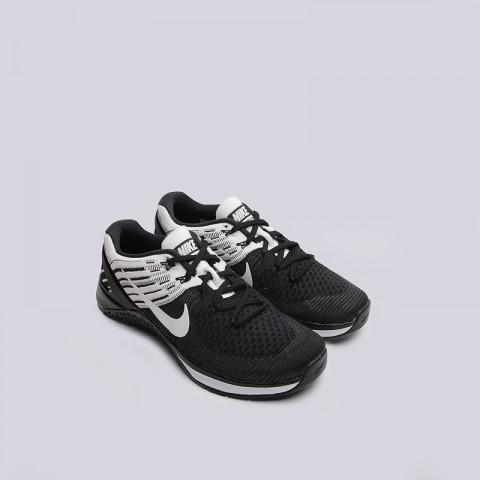 женские черные  кроссовки nike wmns metcon dsx flyknit 849809-001 - цена, описание, фото 2