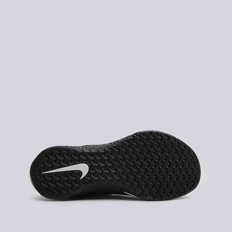 женские черные  кроссовки nike wmns metcon dsx flyknit 849809-001 - цена, описание, фото 4
